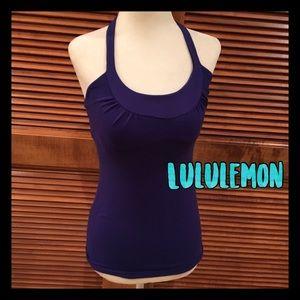 lululemon athletica Tops - Lululemon black and blue sports top